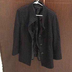 Womens wool jacket size 2